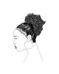 Afro Puff by Mikayla Hammock