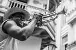 Street Musician by Gerald Alderman