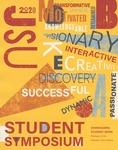 Graphic Design, Symposium Printed Program Contest, Hannah Jones