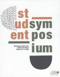 Graphic Design, Symposium Printed Program Contest, Marvin Wills