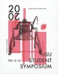 Graphic Design, Symposium Printed Program Contest, Ansley McCullough