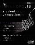 Graphic Design, Symposium Program Contest, Jake Wolven