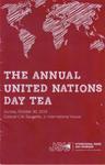 2016 United Nations Day Tea Program