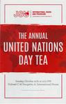 2019 United Nations Day Tea Program by Chandni Khadka-Walsh
