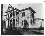Martin Home in Jacksonville, AL, View from Southwest by unknown