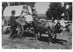 Covered Wagon on the Square 1 by unknown