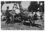 Covered Wagon on the Square 2 by unknown