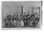 State Normal School Class of 1892 with Professor C.B. Gibson by unknown