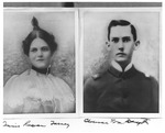 Clarence William Daugette and Annie Rowan Forney by unknown