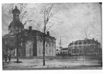 Atkins Hall, State Normal School Main Building, Formerly Calhoun College building, and Alleghany Iron Queen Hotel, State Normal School Dormitory 1 by unknown