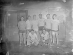 Group of Male Students in Athletic Building 2 by Opal R. Lovett