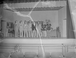 Performers on Stage, 1950s High School Play 10 by Opal R. Lovett