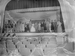 Performers on Stage, 1950s High School Play 11 by Opal R. Lovett
