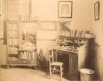 Inside The Magnolias, President C.W. Daugette's Office by unknown