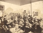 State Normal School Class at Work inside Hames Hall 1 by unknown