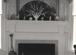 Fireplace Mantel Inside Unknown Home 3 by Rayford B. Taylor