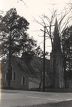 Exterior of St. Luke's Episcopal Church in Jacksonville, Alabama 1 by Rayford B. Taylor