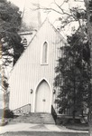 Exterior of St. Luke's Episcopal Church in Jacksonville, Alabama 2 by Rayford B. Taylor