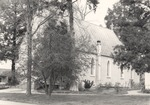 Exterior of St. Luke's Episcopal Church in Jacksonville, Alabama 3 by Rayford B. Taylor