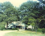 Exterior of Unknown Home where Taylor Library is Located 1 by Rayford B. Taylor