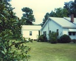 Exterior of Unknown Home where Taylor Library is Located 2 by Rayford B. Taylor
