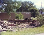 Exterior Remains of Dixie Hotel, Log House Beside Hunt Drug, Located in Piedmont, Alabama 18 by Rayford B. Taylor