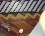 Interior of Burch House 4 by Rayford B. Taylor