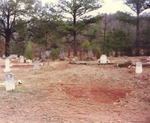 Cemetery Located at Baptist Church Off Red Road by Rayford B. Taylor