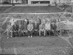 Group of Men at Paul Snow Stadium Benches 5 by Opal R. Lovett