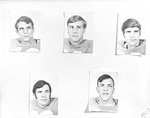 1970 Football Player Individual Headshots by Opal R. Lovett