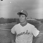 Charles Maniscalco, 1971-1972 Baseball Player 1 by Opal R. Lovett
