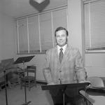 Bayne Dobbins, 1971-1972 Music Department Faculty by Opal R. Lovett
