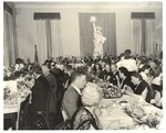 Full Tables with Guests at International House Dedication Banquet by Mountain Eagle Studio