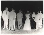 Receiving Line during an Outdoors Reception by unknown