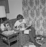 Home and Dorm Life, 1972-1973 Campus Scenes 2 by Opal R. Lovett