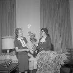Carolyn Hand and Effie Sawyer, 1971-1972 Executive Secretaries 1 by Opal R. Lovett