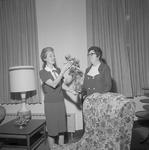 Carolyn Hand and Effie Sawyer, 1971-1972 Executive Secretaries 2 by Opal R. Lovett