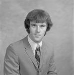 Bill Lynch, 1972-1973 Football Player by Opal R. Lovett