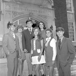 1970-1971 Sophomore Class Officers 1 by Opal R. Lovett