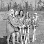 Bat Girls, 1972 Baseball 1 by Opal R. Lovett