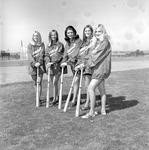 Bat Girls, 1972 Baseball 2 by Opal R. Lovett