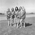 Bat Girls, 1972 Baseball 3 by Opal R. Lovett