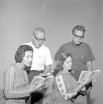 """""""Angel Street,"""" 1972 Faculty Reading 3 by Opal R. Lovett"""