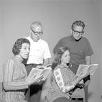 """""""Angel Street,"""" 1972 Faculty Reading 4 by Opal R. Lovett"""