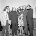 Catholic Student Association, 1972 Visit from Bishop Joseph Vath 1 by Opal R. Lovett
