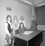 Home Economics Club, 1972-1973 Officers 1 by Opal R. Lovett