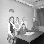 Home Economics Club, 1972-1973 Officers 2 by Opal R. Lovett