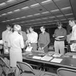 1972 Career Day in Student Commons Auditorium 2 by Opal R. Lovett