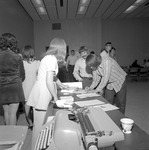 1972 Career Day in Student Commons Auditorium 4 by Opal R. Lovett