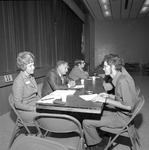 1972 Career Day in Student Commons Auditorium 10 by Opal R. Lovett